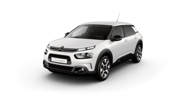 Citroen C4 Cactus Hatch - Available In White Pearlescent