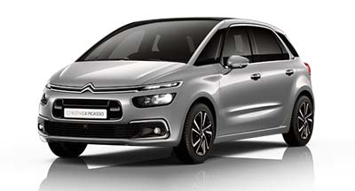 Citroen C4 Spacetourer - Available In Cumulus Grey
