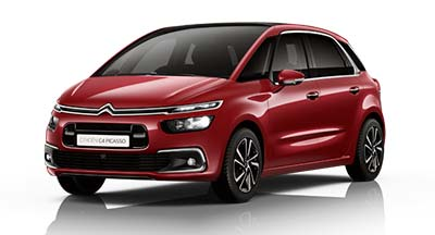 Citroen C4 Spacetourer - Available In Ruby Red