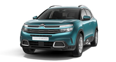 Citroen C5 Aircross Suv - Available In Tijuca Blue
