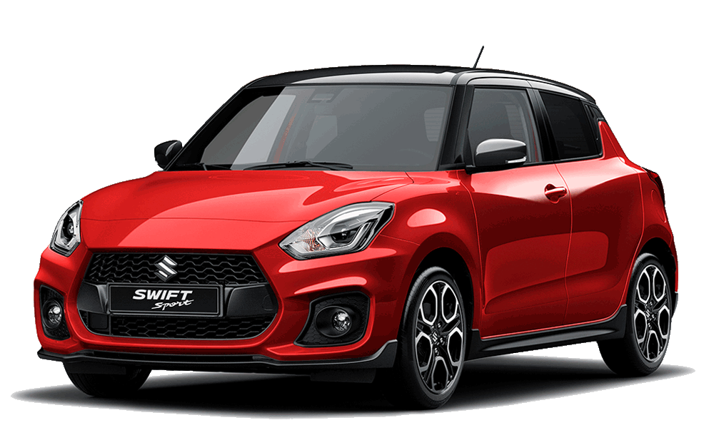 Suzuki Swift Sport - Available In Burning Red / Black